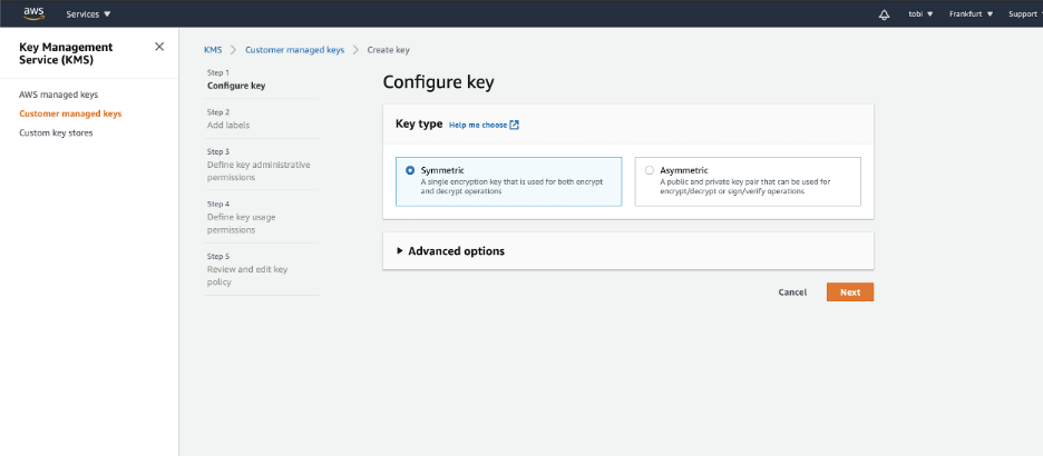 AWS Key Management Service